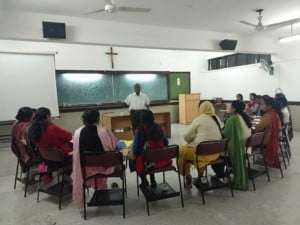 Joseph Rathinam teaching fem. teachers 300x225 - Politics From Below - The Neighbourhood-Parliament Concept, ONLINE 1st Sep.