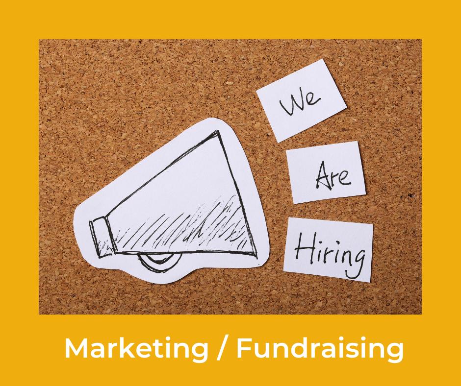 Mitarbeiter*in für Marketing und Fundraising gesucht!